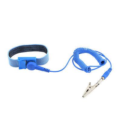 Stretch Wristband Metal Alligator Clip Anti Static PVC Wrist Strap(China (Mainland))