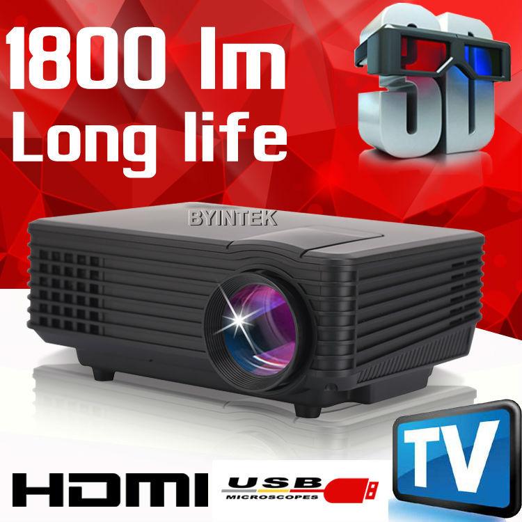 2015 best brand byintek mini projector Home Theater Video LCD Tv cinema piCO HDMI Portable fULi hD 1080P LED 3D Proyector beamer(China (Mainland))
