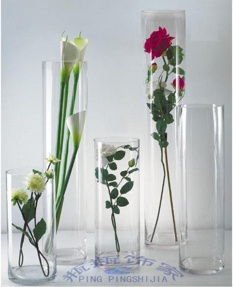 Compra florero de cristal de la boda online al por mayor - Decoracion jarrones de cristal ...