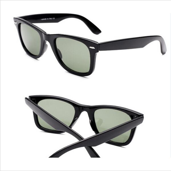 Top quality wayfarer RB2140 Sunglasses women glass lens men Gafas oculos de sol vintage sport glasses with original Logo(China (Mainland))
