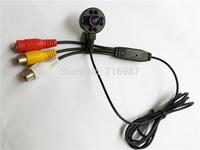 600TVL Mini CMOS Color IR Camera 1/4 cmos CCTV security Camera 1.8mm Wide view Lens cmos camera 940nm IR 8pcs led