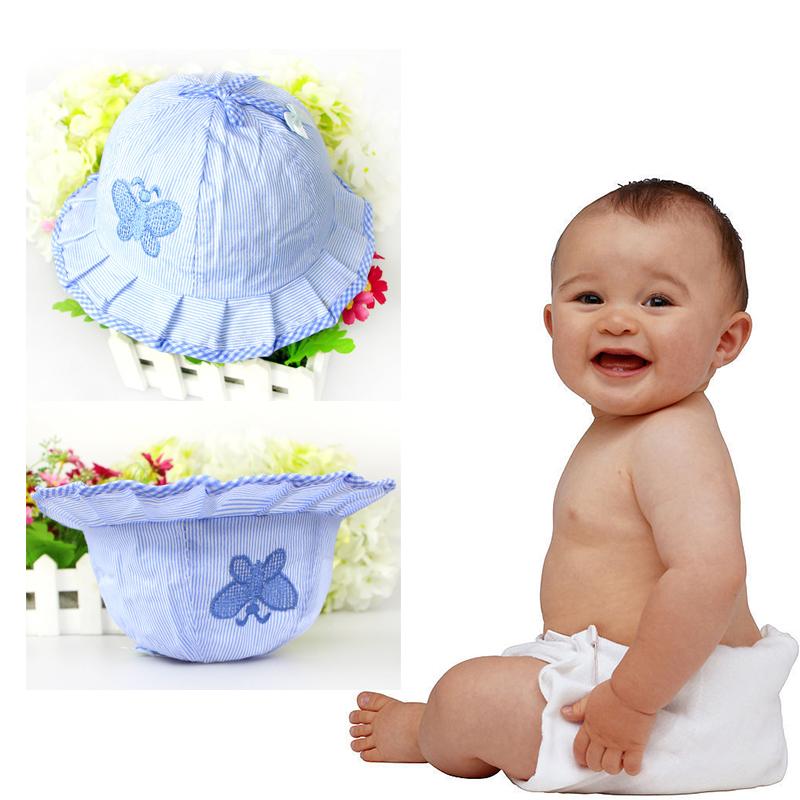 2015 Fashion Baby Infant Visor Sun Hats Caps Soft Cotton Baby Sun Hats Children Girls Sun Hat # L03096(China (Mainland))