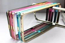 2015 New Arrival HihT Quailty Ultra Thin Aluminum Metal Bumper Case For samsung G355 Mobile Phone Accessories