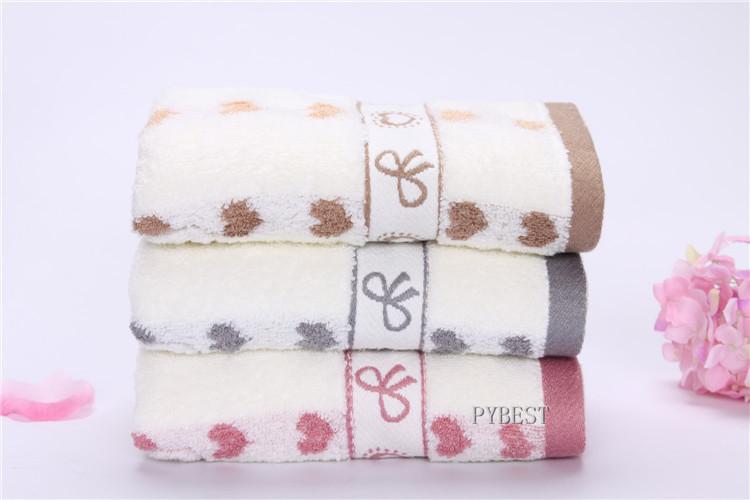 Wholesale Solid Hand Towel Soft Beach Towel Bulk Cheap Towels Untwisted Yarn Towel Set 4pcs Lot 35*75cm PY0026(China (Mainland))