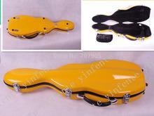 Желтый цвет 4/4 скрипка чехол стекловолокна мягкая подражать кожа розовый белый черный #GF28