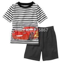 New fashion Brand Children clothing set newborn summer baby boy clothes sets t shirt pants suit