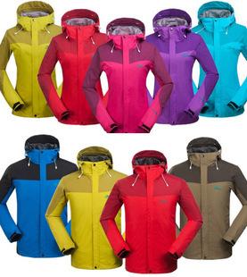 New 2015 Brand Spring Men/Women Hiking Jacket Outdoor Quick-Drying Ski Coat chaqueta Waterproof Windproof Camping Windbreaker(China (Mainland))