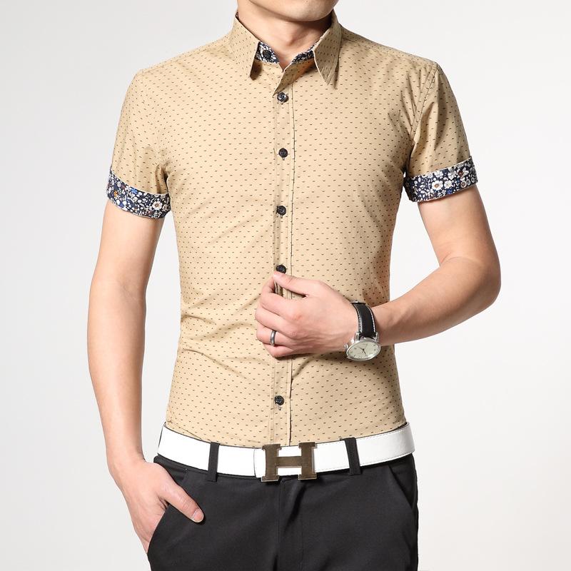 2015 100% Slim Fit XXXL camisa masculina 1212 2015 100