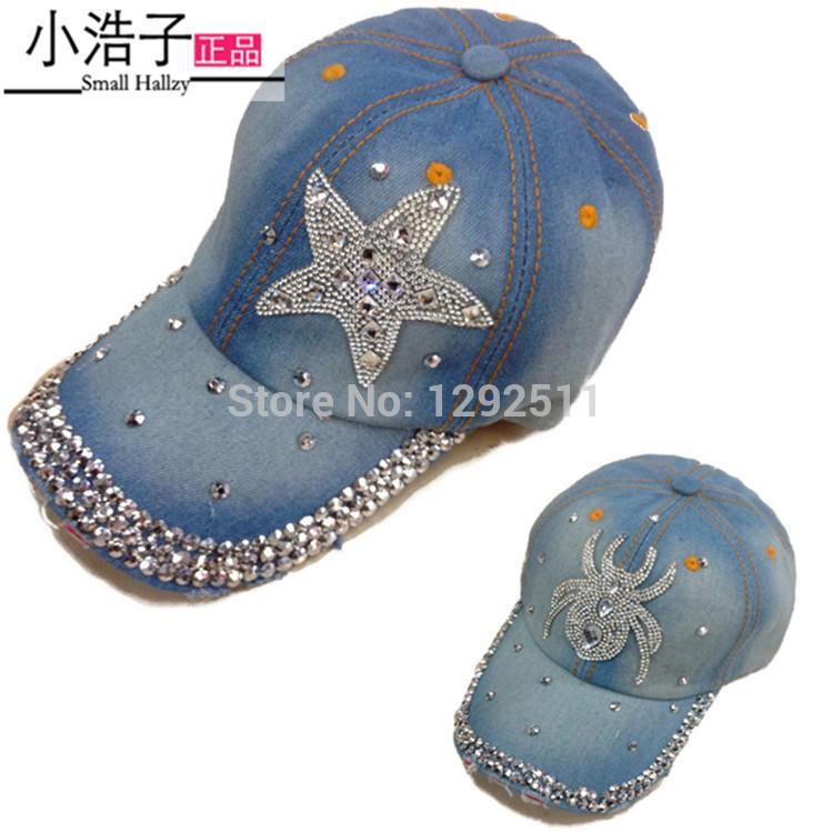 Free shipping fashion cotton denim berets caps, women jeans baseball cap,lady JEAN summer baseball hat/sports hat sunshine hats(China (Mainland))