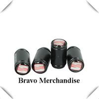 4caps/set cars accessaries  wheel tire tyre valve caps black Grind arenaceous covers with seat car logo brands emblem badge
