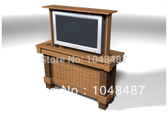 online kaufen gro handel motorized tv cabinet aus china. Black Bedroom Furniture Sets. Home Design Ideas