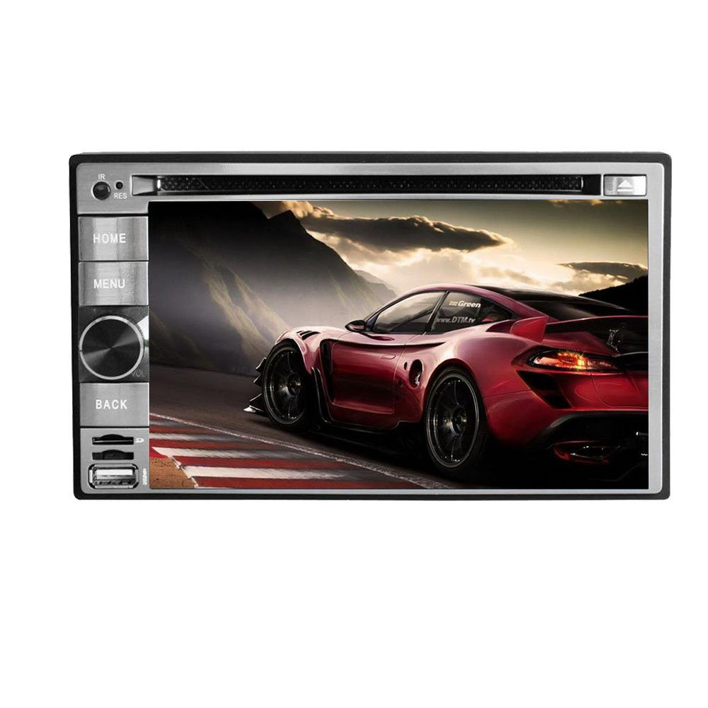 Android 4.2 Universal 6.2 Inch In-Dash Car DVD Player 2 DIN GPS Car Stereo Audio WIFI RDS IPOD BT TV Capacitive Touch Screen(China (Mainland))