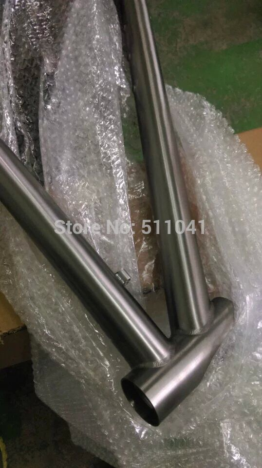 titanium bike frame price, Paypal is available(China (Mainland))