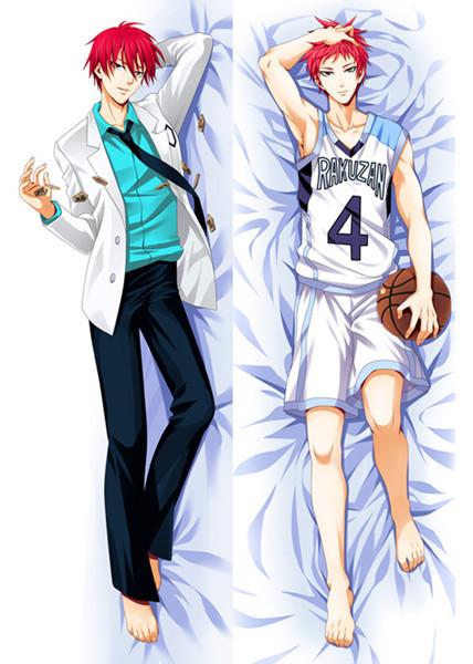 2015 New Anime Dakimakura hugging Pillow Covers HD Japanese Anime Pillow Case 6031 Kuroko no Basket(China (Mainland))