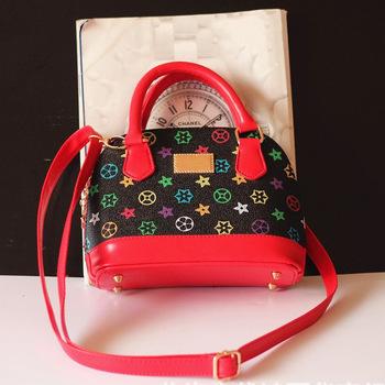 Новые 2015 новорожденных девочек мода сумки девочки аксессуары дети сумки дети пу ну вечеринку оболочки мешок плеча ведро сумки слинг Bolsas
