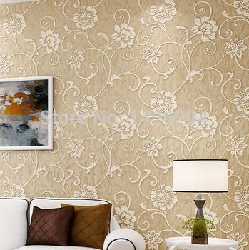 Завод прямых продаж современный 3D обои ролл, обои спальня гостиная тв фоне стены, papel де parede цветочный