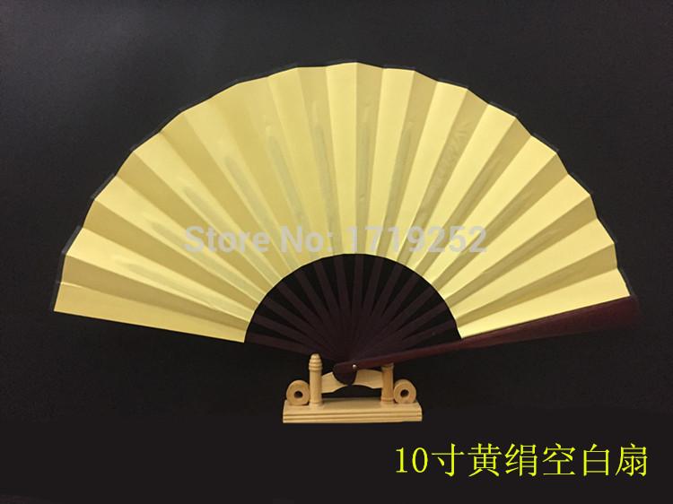 Jade bamboo folding paper folding fan painting and calligraphy of Chinese technology China wind fan(China (Mainland))