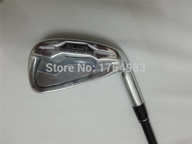 SLDR Iron Set SLDR Golf Irons OEM Golf Clubs 4-9PASw(9PCS) Regular/Stiff Graphite Shaft Come With Head Cover(China (Mainland))