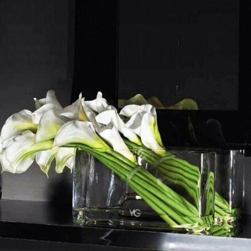 Glass Flower Vase Flowers Clear Glass Vase