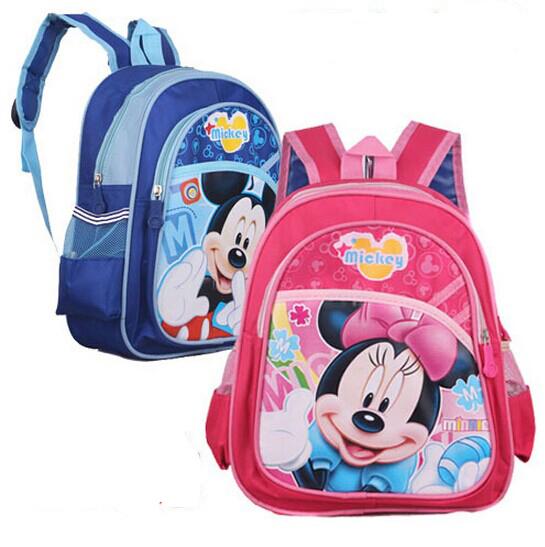 New Kindergarten School Bag Kid Bag Children Minnie Backpack Mochila Mickey Backpack Boys Girls Shoulder Bag Mochila Infantil(China (Mainland))