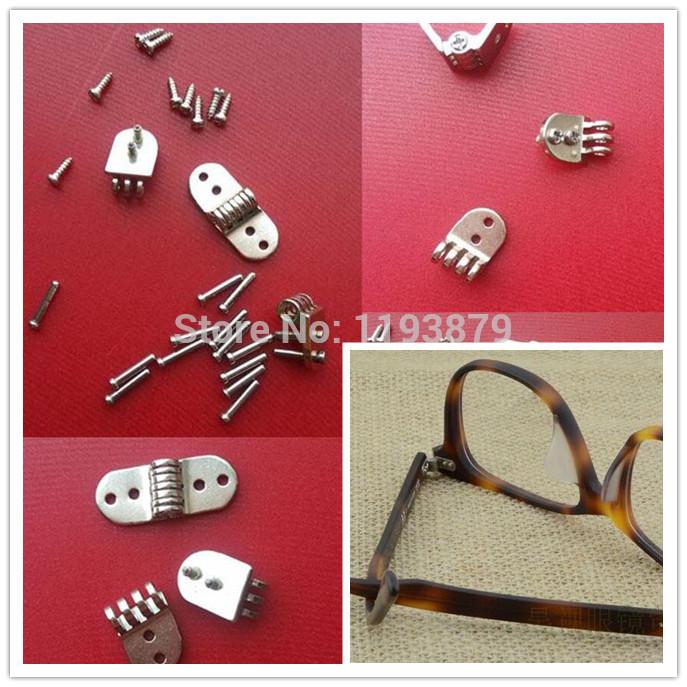 Glasses frames hinge sunglasses leg hinge 4.0MM (2 + 1) Oblique 7 hinges custom DIY repair glasses necessary charniere(China (Mainland))