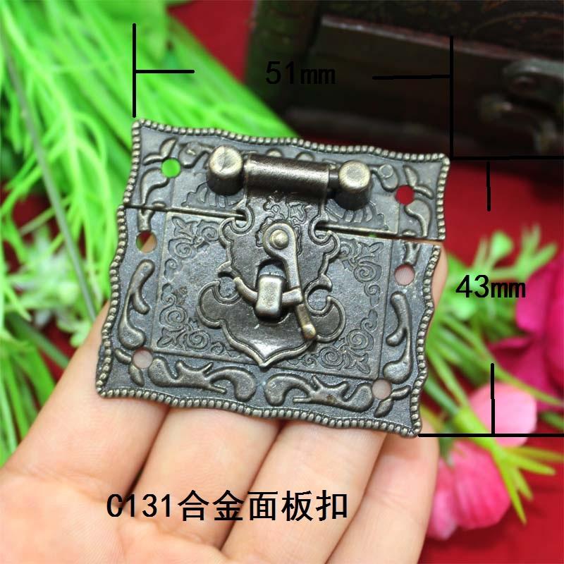 40pcs/lot 51x43mm zinc Alloy Antique Chinese style Wood Furniture Hinge free shipping(China (Mainland))