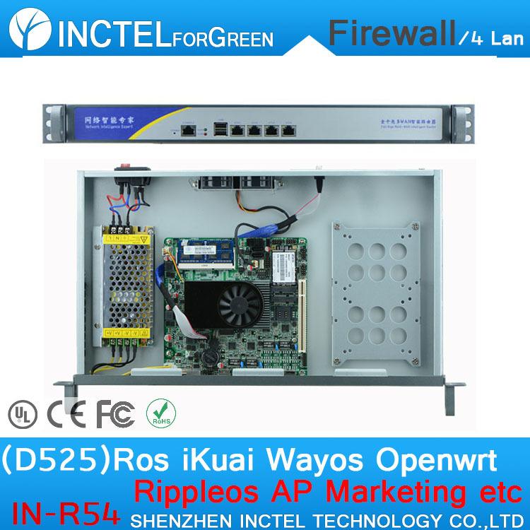 Firewall и VPN Partaker Or INCTEL ( ) Intel Atom D525 1.8 sim 3G IN-R54 partaker 1u firewall server security firewall d525 with intel pci e 1000m 4 82583v 2gb ram 32gb ssd pfsense router