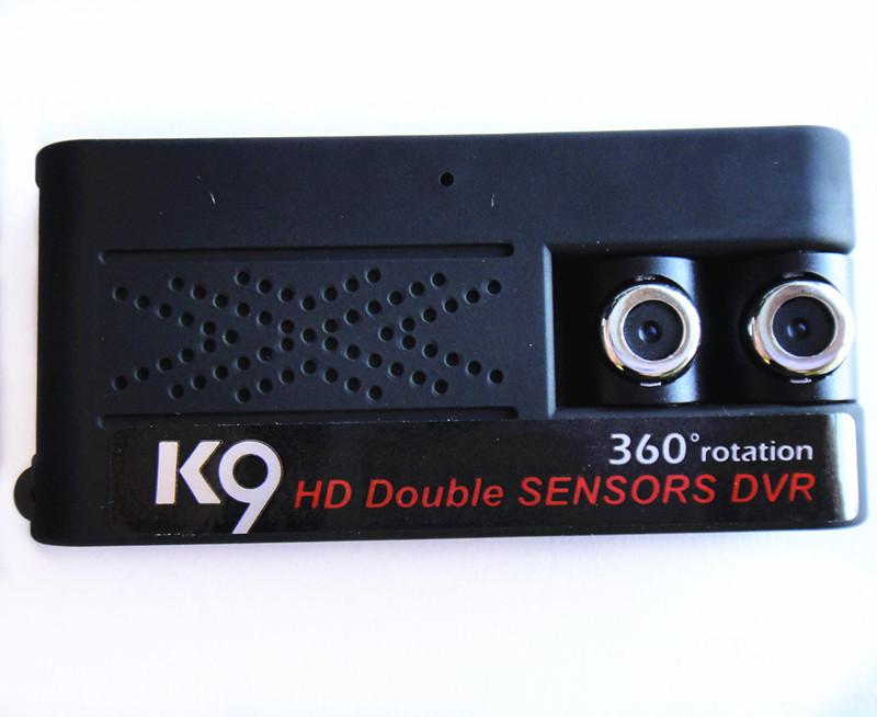 Latest K9 Mini 360 Degree Rotate CMOS HD Dual Lens Camera B0846 LP(China (Mainland))