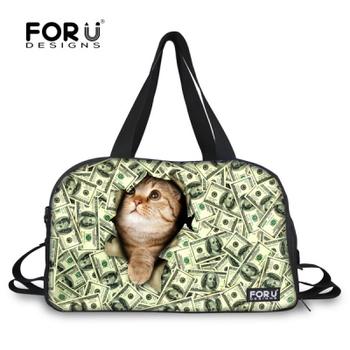 Мода Mulitifunctional животных кошка печать фитнес мешок для марка водонепроницаемый ...