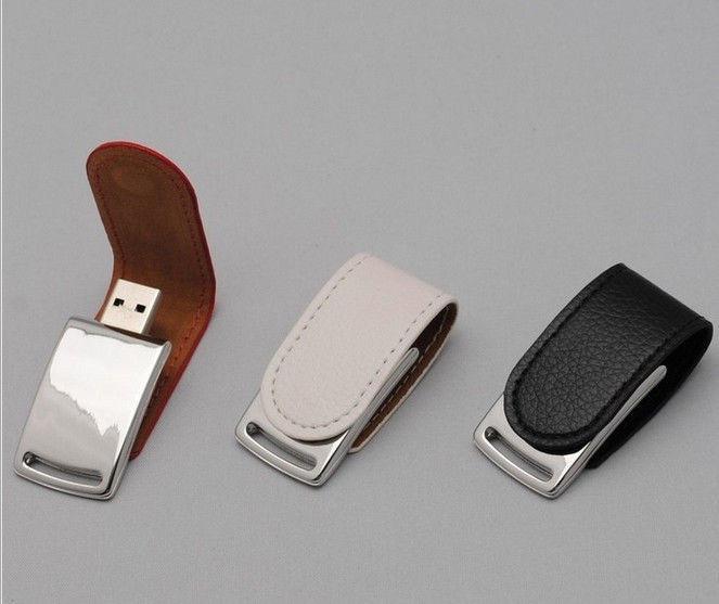 2015 New Leather Business key chain usb 2.0 memory flash stick pen drive Full 4-32gb free shipping(China (Mainland))