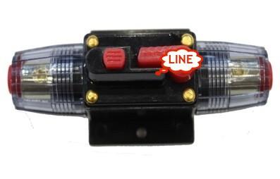 100 AMP Car Audio em linha Circuit Breaker substitua o fusível de 12 V DC proteção(China (Mainland))