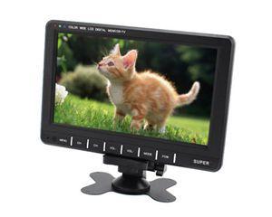 High Quality 9.8'' LCD Car Mirror Monitor Wide View Mini TFT LCD Analog TV Car Monitor Support SD MMC AVI IR Car Video Player(China (Mainland))