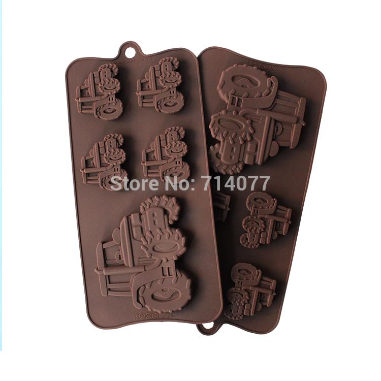 1PCS Car Shape fondant Chocolate Candy Jelly Cake Silicone Mold Baking Mold Sugar craft Cake Decoration L088(China (Mainland))