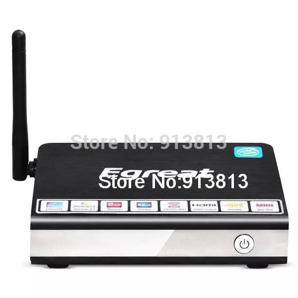 Egreat i6 Wintel Mini PC Windows 8.1 Intel Z3735F TV BOX Smart TV Receiver Media Player 2G RAM 32G ROM 2.4G/5G WIFI Bluetooth(China (Mainland))