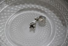 1Pcs Alloy Bead Charm European Silver Tower Beads Fit Pandora Bracelets Bangles Free Shipping Wholesale