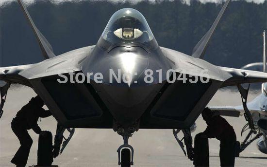 free shipping Strike Fighter F-22 Raptor US Air Force Air Superiority Fighter Model Kit DESKTOP MODEL F-22 VIPER / RAPTOR(China (Mainland))