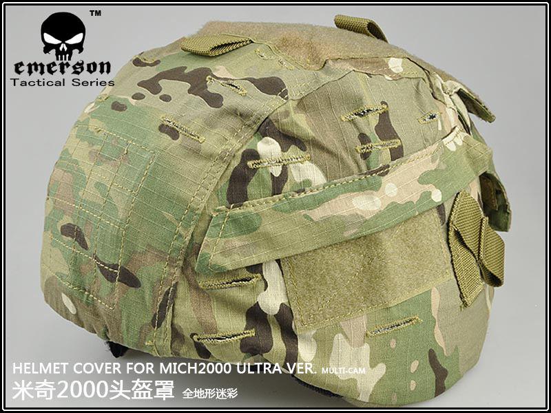 Защитный спортивный шлем EMERSON MICH 2000 /multicam BD1820