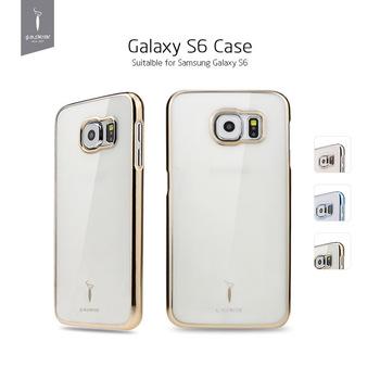 2015 новых прибыть зеленый поликарбонат сотовый телефон чехол для Samsung Galaxy S6 мода обложка чехол Godosmith бренд