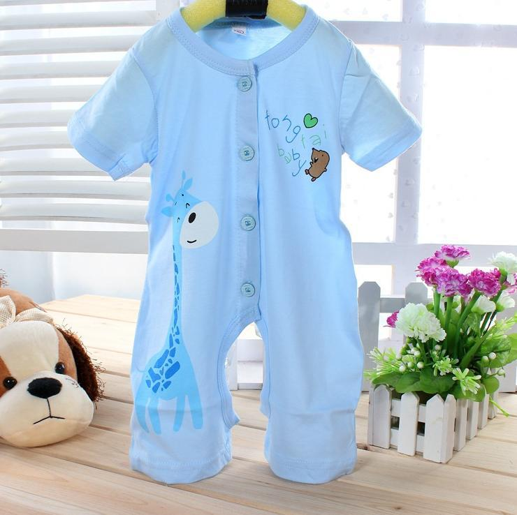 Retail 2015 Summer Romper newborn baby 0-3 months baby girl toddler romper 100% cotton baby romper clothing clothing + Free Bibs(China (Mainland))