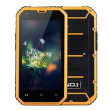 No.1 M2 4,5-дюймовый MTK6582 1.3 ГГц IP68 водонепроницаемый четырехъядерных процессоров смартфон открытый три анти-мобильный телефон 1 ГБ RAM 8 ГБ ROM 5-мп + 13MP 3 г