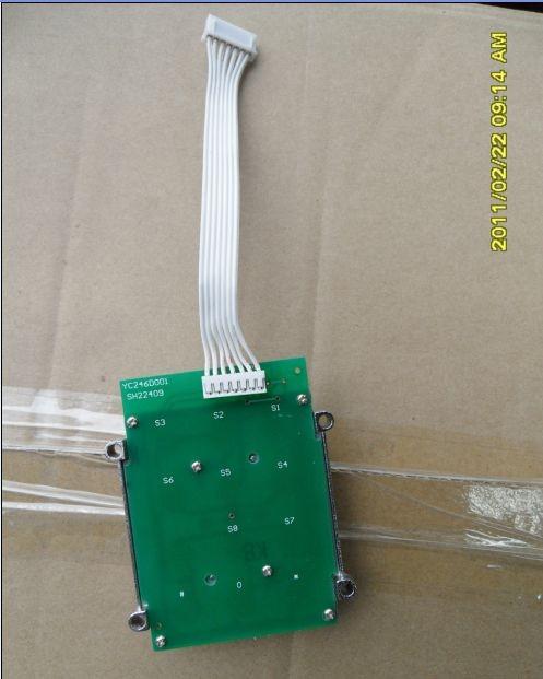 Access control enter 12 metal keyboard 3*4 zinc alloy matrix keyboard(China (Mainland))