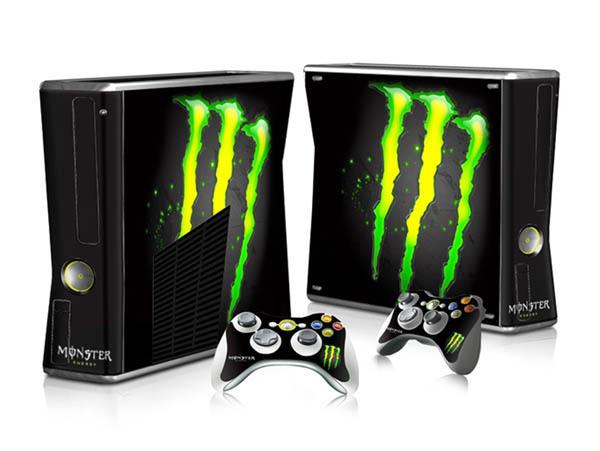 Xbox 360 e skin sticker