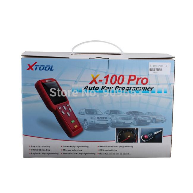 Dhl livre 2015 Original x-100 pro AUTO chave programador x 100 + pro plus AUTO chave criador frete atualização online x100 pro multi-marcas(China (Mainland))
