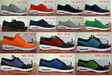 Free shipping Stefan fashion Men's Janoskiing mesh running sport shoes Max size45(China (Mainland))