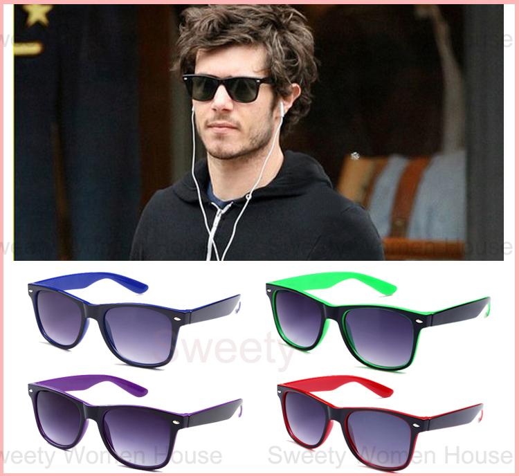 Vintage Wayfarer Sunglasses Women Men R-B Coating Sunglass Mirrored Gafas De Sol Colorful Raying Masculino Sun Glasses Oculos(China (Mainland))