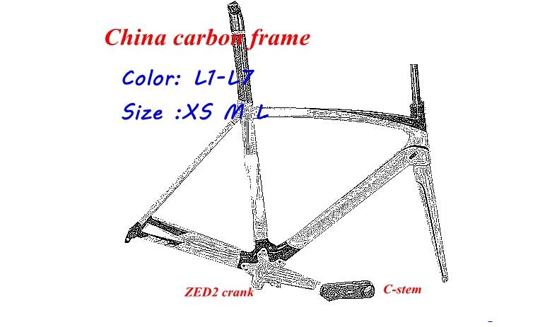Wholesale ! COSTELO MASSA bicicletta 2015 carbon road bike frame ZED2 crank C-stem carbon frame Racing bicycle carbon frame(China (Mainland))