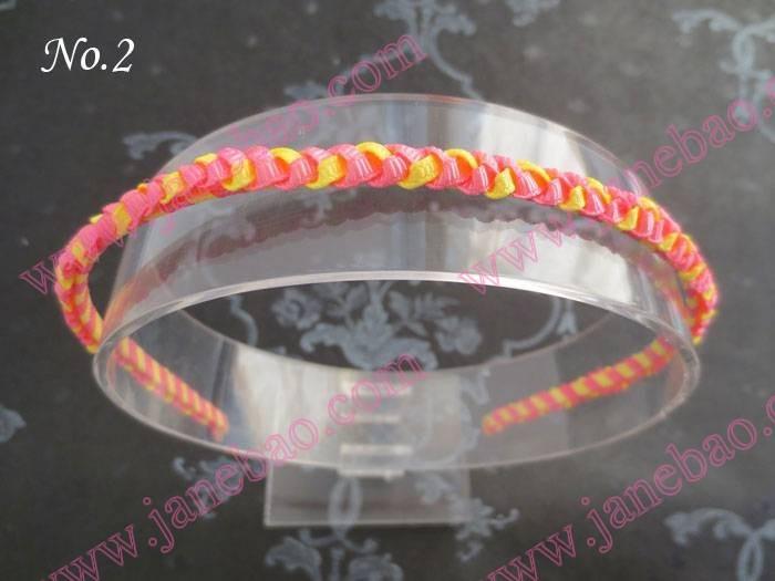 free shipping 30pcs Good Girl Fashion Handicraft 8 MM Breadth Metal Headband(China (Mainland))