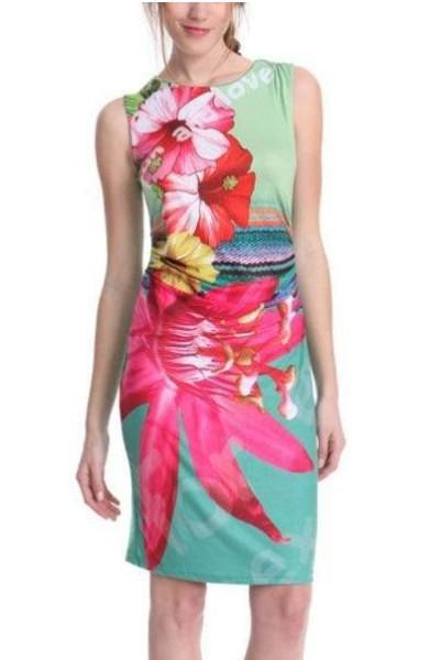 Женское платье Dear-Lover LC21533 vestidos 2015 женское платье dear lover roupas vestido estampado flouncing bodycon lc21600