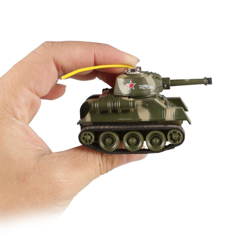 Мини военная инфракрасный пульт дистанционного управления трек сражения RC танк Emmagee пульт дистанционного управления танк с легкой игрушкой(China (Mainland))