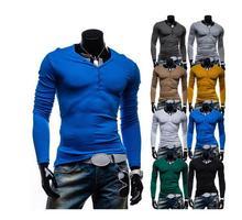 Top brands! 2015 hot Men's sweaters, Long-sleeved sweater thin sweater men's sweater(China (Mainland))